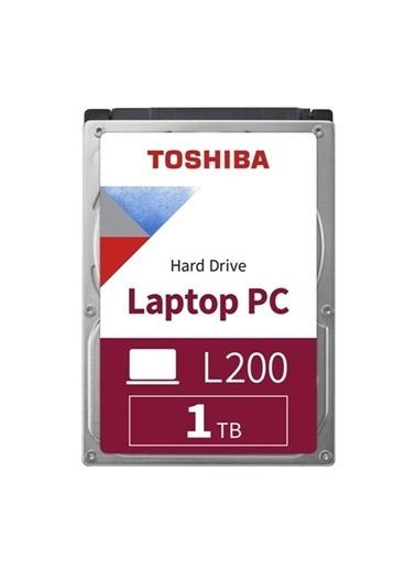 Toshiba Toshiba 1Tb 2.5 5400Rpm 128Mb L200 Hdwl110Uzsva Renkli